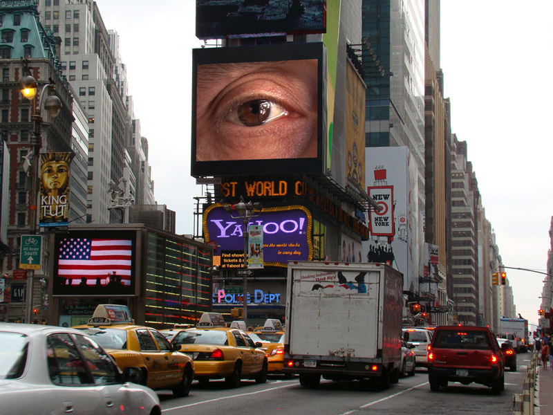 Times Square big brother